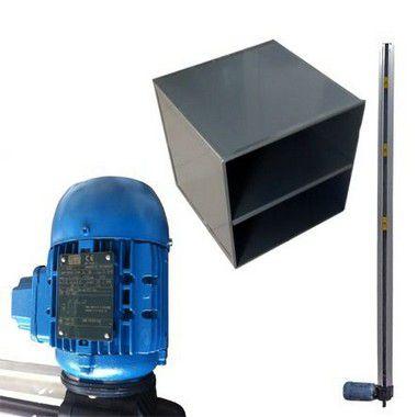 Elevador Monta Carga Rossi Com Cabine Aço Carbono (Perfil 4 Metros)