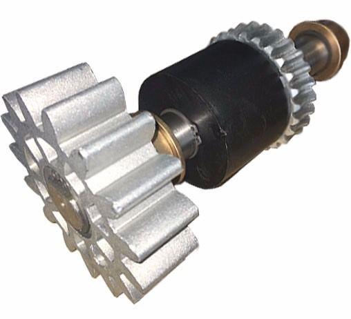 Kit Eixo Principal Motor Industrial Rossi DZi Completo 3/4hp
