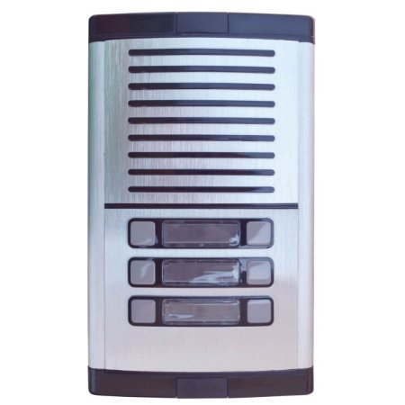 Porteiro Eletrônico Coletivo HDL Com 6 Botões Predial MPS-6