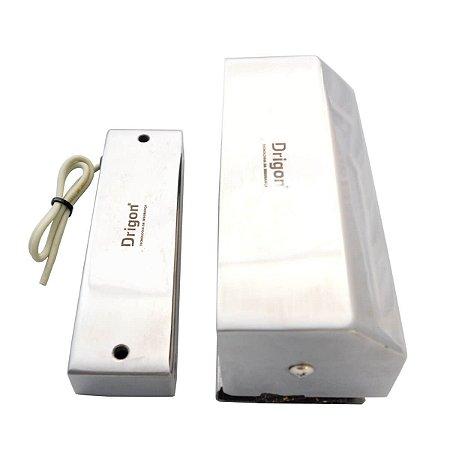Fechadura Eletromagnética para Porta de Vidro Deslizante Drigon