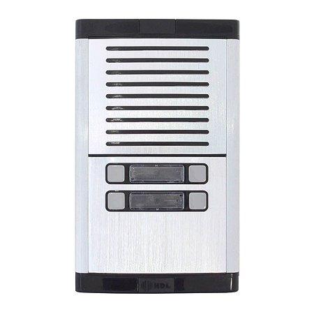 Porteiro Eletrônico Coletivo HDL Com 4 Botões Predial MPS-4