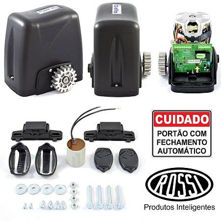 Motor Portão Rossi Deslizante DZ Atto Turbo Com 2 Controles
