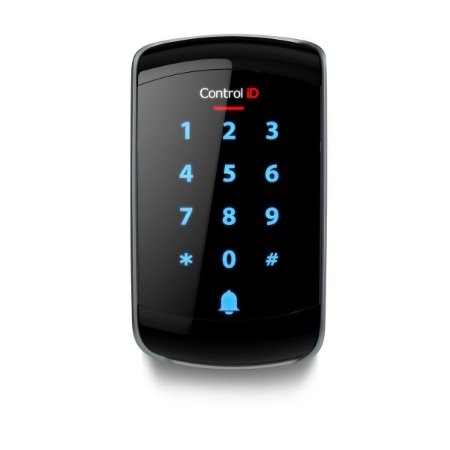 Controlador de Acesso Control iD Senha Cartão Tag RFID Condomínio Externo iDTouch IP65 125 KHz (ASK)