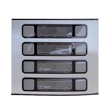 Módulo 8 Botões Porteiro Eletrônico Coletivo HDL - 90.02.01.527