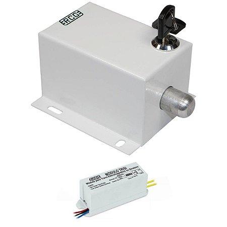 Trava Elétrica Portão Basculante Pivotante Com Temporizador RCG