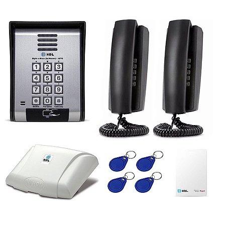 Interfone 2 Apartamentos Casas Condomínio HDL Com Controle Acesso