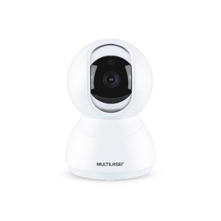 Câmera Wifi 360º Áudio Full HD 1080p Robozinho Multilaser SE221