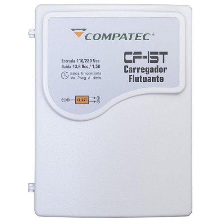 Fonte Temporizada Eletroímã 12V 1,5A Nobreak p/Segurança Compatec