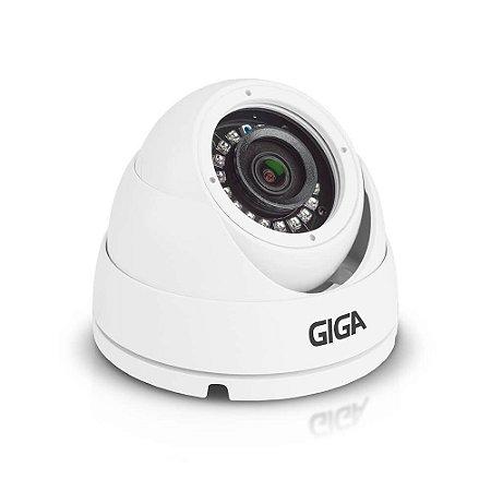 Câmera Dome Giga Full HD 1080p Externa Metal WDR Infra 30m GS0051