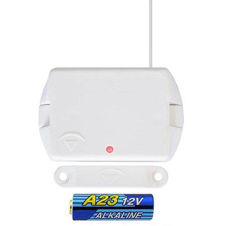 Sensor Magnético Abertura Sem Fio Porta Janela 433 MHz RSHT8 Compatec
