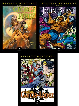 COMBO Mestres Modernos volumes 1 a 3