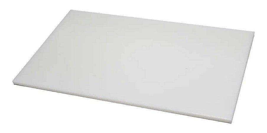Tabua De Polietileno, para corte 50 cm x 30 cm x 10 mm