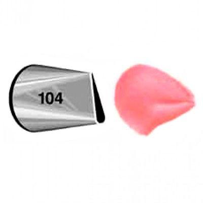 Bico De Confeitar Inox Wilton Pétala Flor N 104 Original