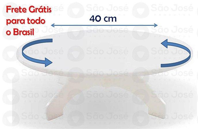 Bailarina giratória em pol. 40 diam. x 12 alt.x 8mm esp