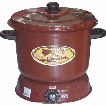 Panela Para Derreter De Chocolate Elétrica Fondue 7kg
