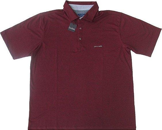 5412812730 Camisa Polo Pierre Cardin PLUS SIZE (SEM BOLSO) - 50% Algodão   50