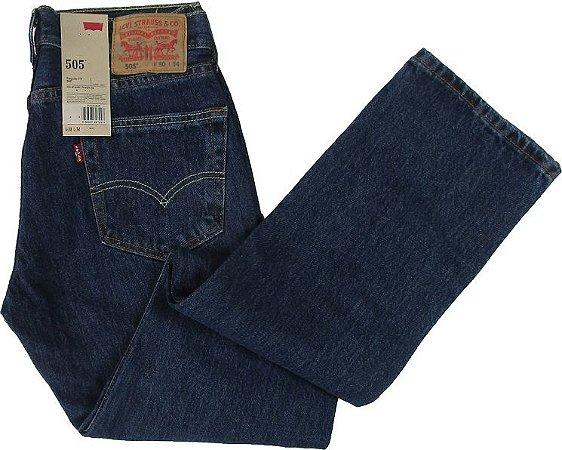 Calça Jeans Levis Masculina Corte Tradicional - Ref. 505-4886 (PLUS SIZE) 2df93abaf08