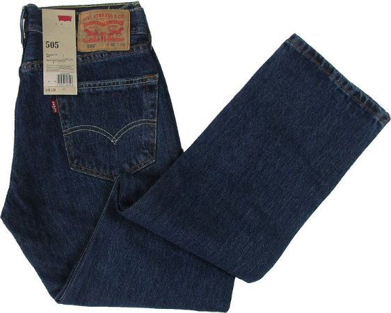 671f5e9a0dbf2 Calça Jeans Levis Masculina Corte Tradicional - Ref. 505-4886 (PLUS SIZE)