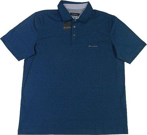 e36c1638a3 camisa Polo Pierre Cardin (SEM BOLSO) - 50% Algodão   50% POLIESTER