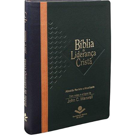 Bíblia Da Liderança Cristã - Nova Edição