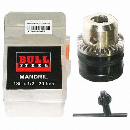 """Mandril 1/2"""" X 20UNF com rosca (BDJ3513) – BS"""