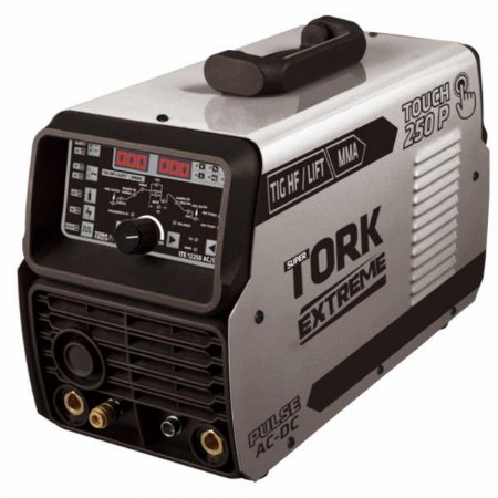 Inversora 250 Amperes 3 em 1 TIG HF - TIG LIFT - MMA Pulsada - Super Tork