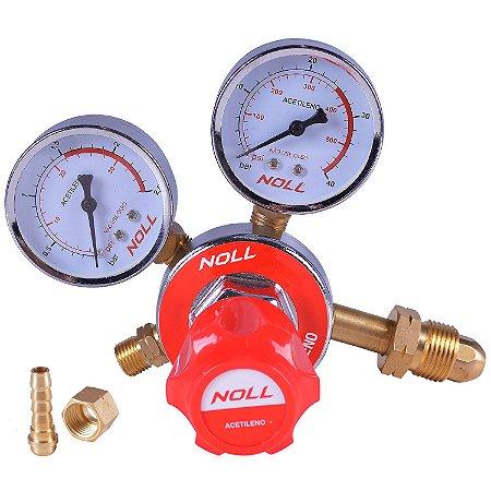 Regulador de Pressão para Acetilêno - Noll
