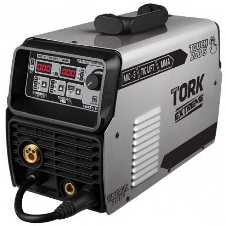 Máquina inversora para solda MIG-S, TIG LIFT e Eletrodo 200 Amperes TOUCH 200-S