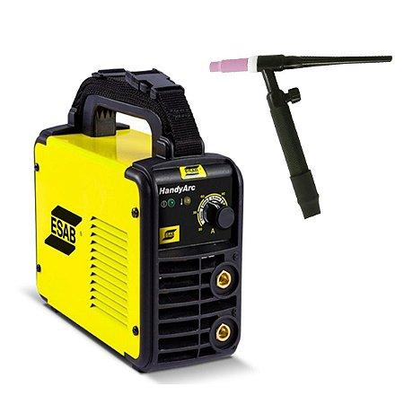 Máquina Inversora De Solda Handyarc 160i + Tocha Seca 13mm