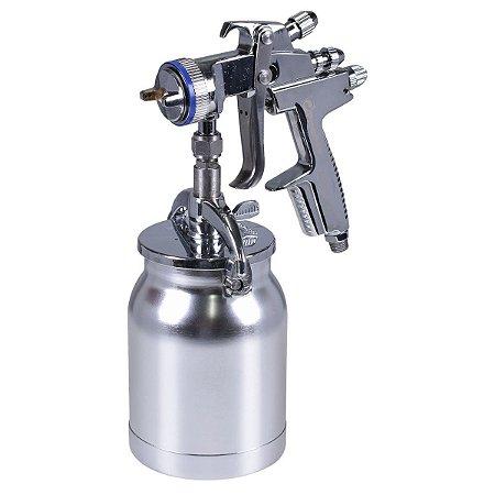 Pistola De Pintura Média Produção Bico 1,4mm Psm03 - Pressure