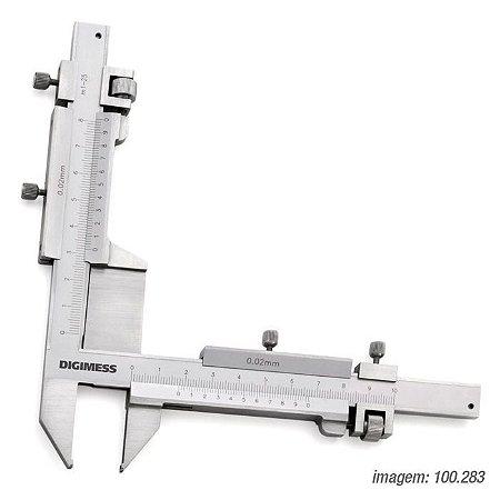 Páquimetro 1-25mm Dentes De Engrenagem - 100.283 - Digimess