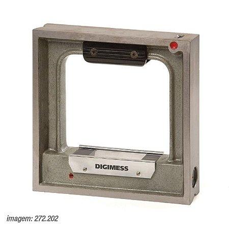 Nível Quadrangular De Precisão 200mm (272.202) - Digimess