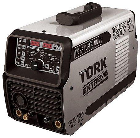 Máquina Inversora 250 Amp TIG ELETRODO AC DC - Tork