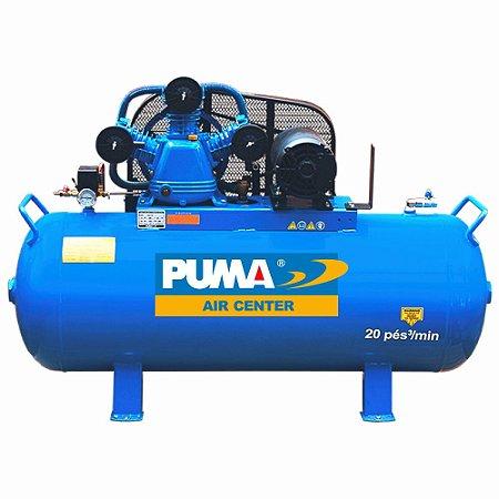 Compressor a Pistão 283 Lts 10CV Trifásico - PB40/283H