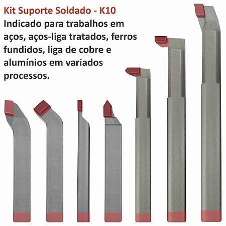 Kit de Suportes Soldados com 7 peças K10