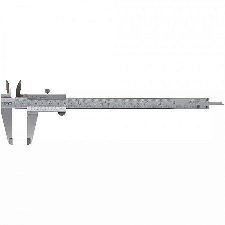 "Paquímetro Universal 200mm/8"" – 0,05mm/ 1/128 – 530-114BR Mitutoyo"