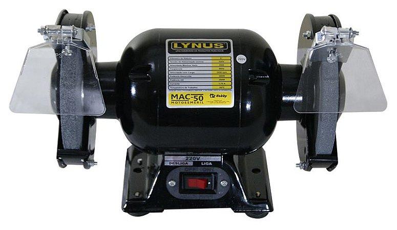 """moto esmeril 6"""" 360W 1/2 cv - Lynus"""