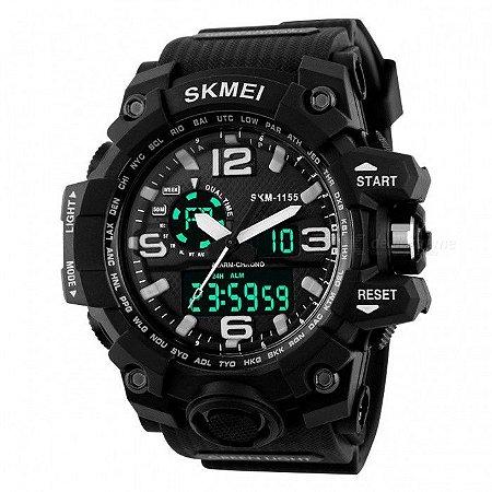 975fa572b5c Relógio Militar Skmei S-shock Analógico Digital Pd água 1155 - AFC ...