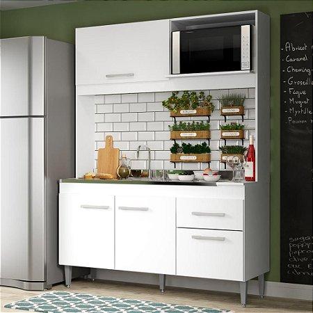 Cozinha Sara mais balcão de cooktop max