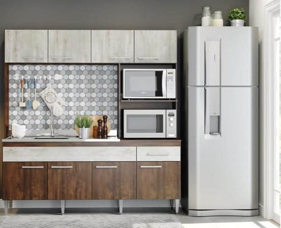Cozinha Compacta Luiza- Soluzione
