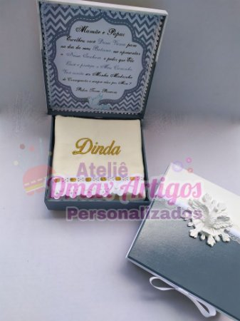 Caixa Convite com moldura Espirito Santo