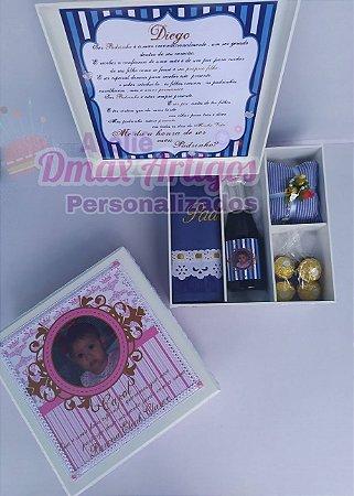 Caixa convite personalizada com foto