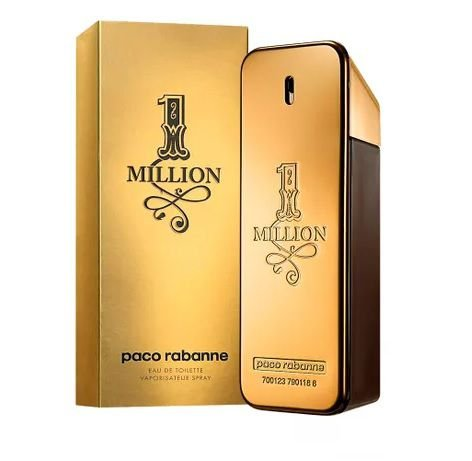 1 Million De Paco Rabanne Eau De Toilette Masculino 100ml
