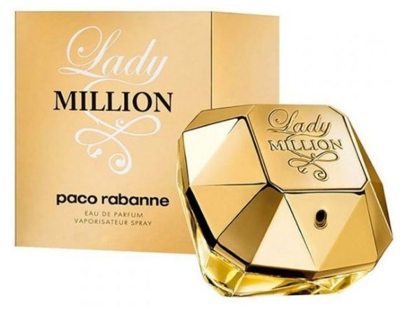Lady Million Paco Rabanne Feminino Eau De Parfum 80ml