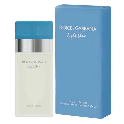 Light Blue By Dolce Gabbana Eau De Toilette Feminino - 100 ml
