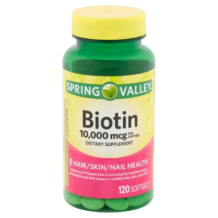 BIOTIN 10,000mcg                (120 comprimidos)