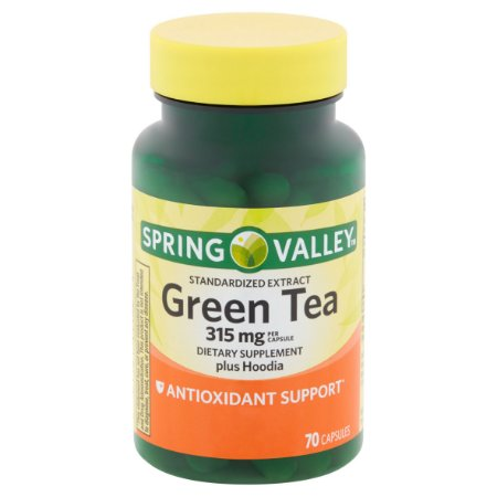 Spring Valley Green Tea 315mg (70 comprimidos)