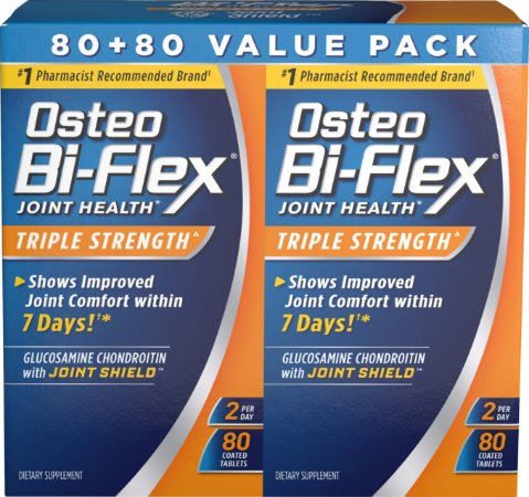 Osteo Bi-Flex 2 Potes (80 comprimidos em cada pote)