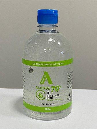 Álcool em Gel 460G - (CAIXA COM DOZE UNIDADES)
