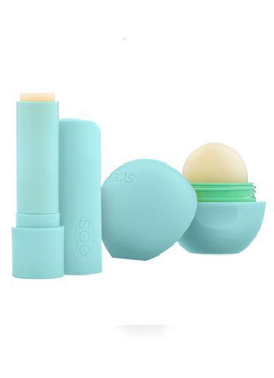 Kit EOS Protetor Labial de Menta com 2 unidades 11g